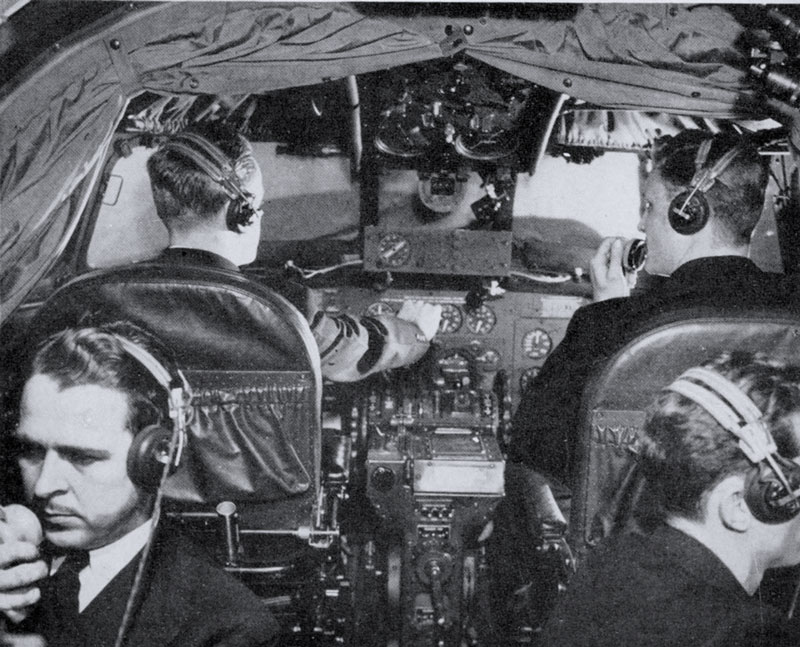Pan Am Constellation Cabin Crew and Controls