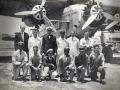 Pan Am Pilot Basil Rowe with Fokker, F-10 TriMotor and fellow employees