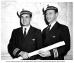 Pan Am Captains Lorenz and Brown Navigated the Pole route, from Tokyo to Maine